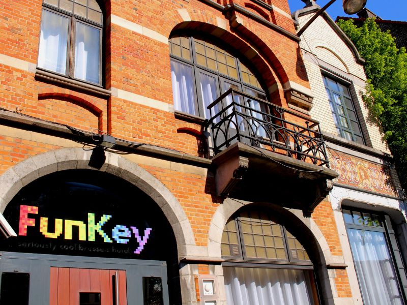 Funkey Seriously Cool Brussels Hotel